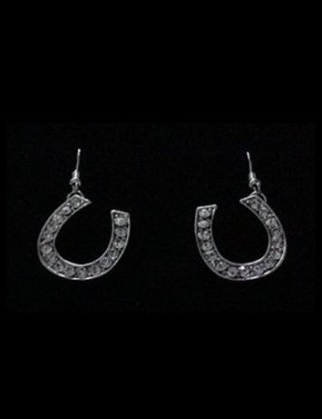 3/4 in. Horseshoe Earrings
