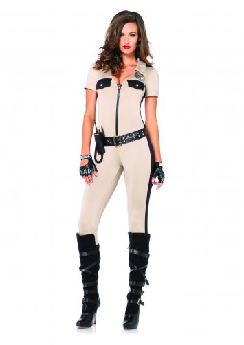 4 PC. Deputy Patdown Costume