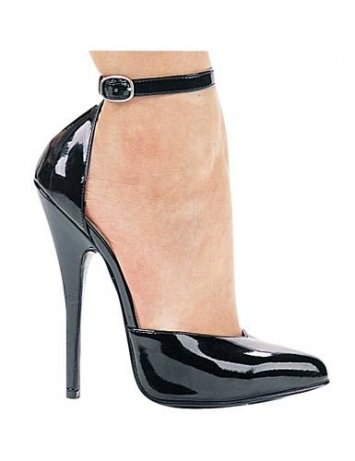 6 Inch Ankle Strap Pump