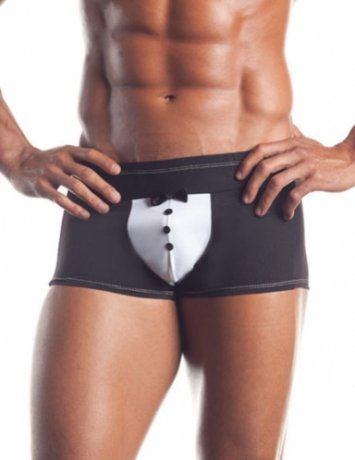 At Your Service Tuxedo Brief