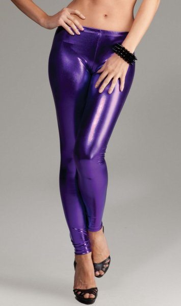 Avenue Stretch Metallic Legging Pants