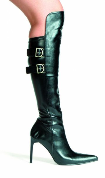 Bach 4 Inch Knee High Boots with Buckles