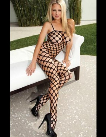 Bold Fishnet Bodystocking