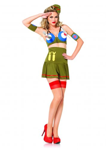 Bomber Girl Costume