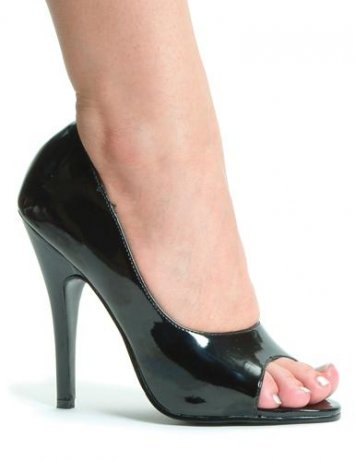 Bonnie 5 inch Open Toe Pumps