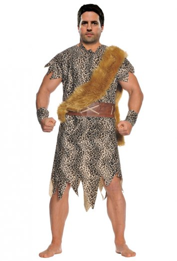 Cave Dweller Adult Plus Costume