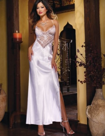 Charmeuse Sequin Gown