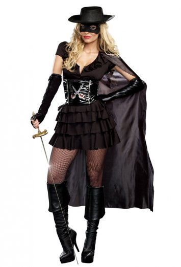 Double-Edged Diva Adult Costume