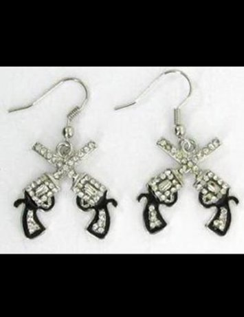 Double Gun Earrings