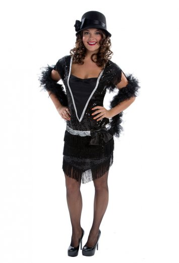 Elegant Flapper Adult Costume