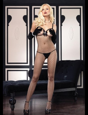 Industrial Cameo Bodystocking