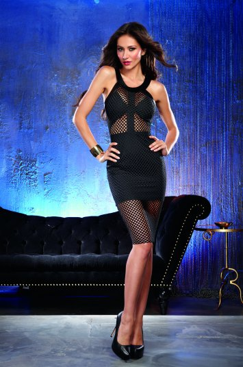 Large Fishnet Club Dress