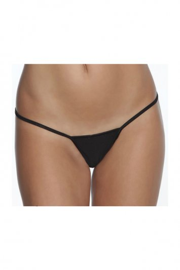 Plus Size Low Rise Lycra G-String