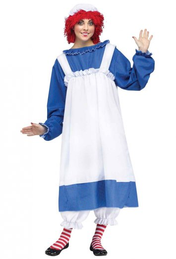 Raggedy Ann Adult Costume