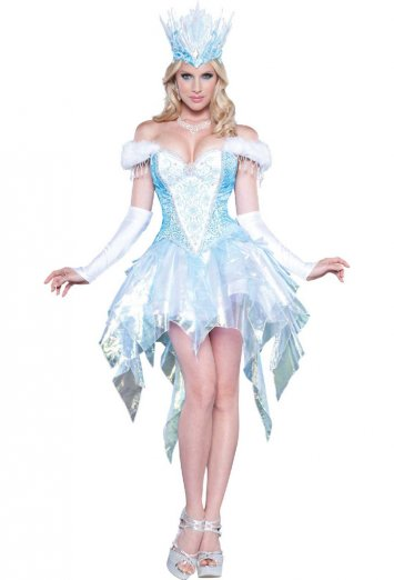 Sexy Snow Queen Adult Costume