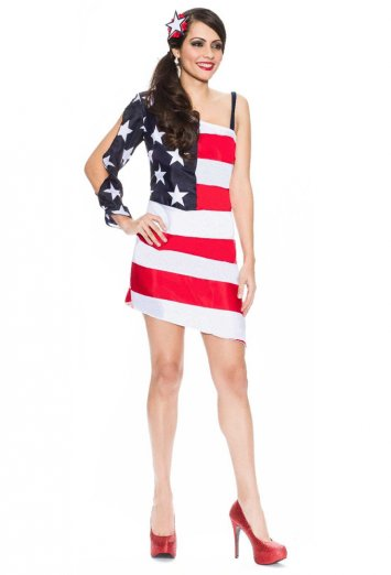 Star Spangled Sweetie Adult Costume