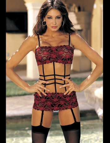 Strappy Lace Chemise
